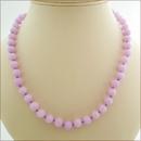 Lavender Candy Jade Necklace (BH89)