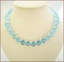 Blue Quartz Necklace (SS104)