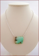 Chrysoprase Pendant Necklace (SS106)