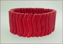 Red Howlite Stretch Bracelet (BH98)