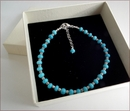Precious Friendship Bracelet in Burmese Turquoise (SM130)