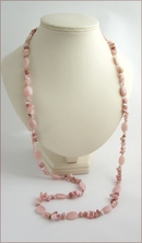 Pink Opal Long Necklace (CG65)