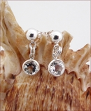 White Topaz Earrings (DDE20)