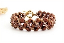Bronze Beaded Bracelet (BB26)