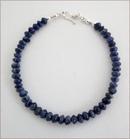 Sodalite & Silver Precious Friendship Bracelet (SM137)